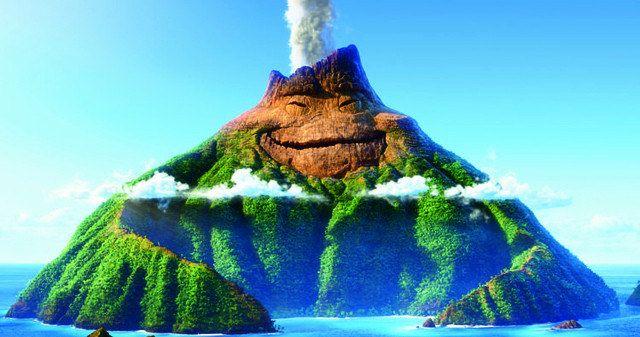 Meet Uku the Volcano in New Pixar Animated Short Lava