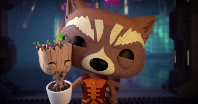 Watch Rocket Rescue Groot in Marvel Funko Pop! Animated Video