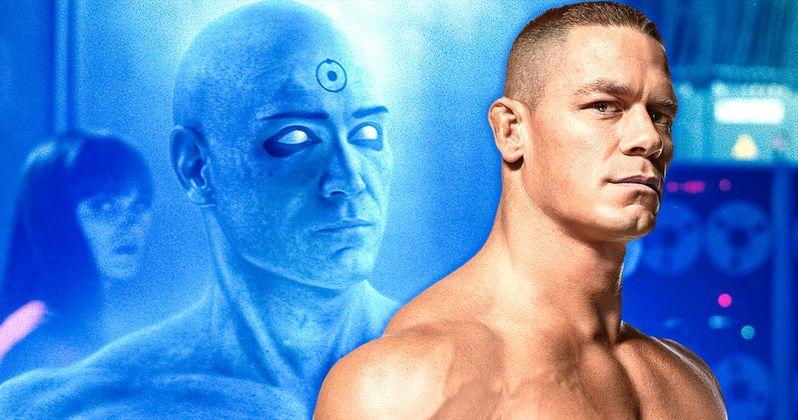 Is John Cena Doctor Manhattan in HBO's Watchmen Series?