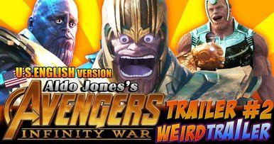 Infinity War Weird Trailer #2 Is Mind-Boggling
