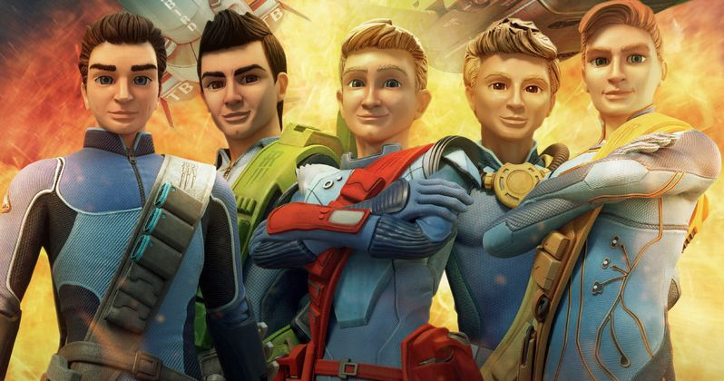 Thunderbirds Are Go! Trailer: The Tracy Brothers Return