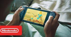 Nintendo Switch Super Bowl Commercial Reveals Zelda Sneak Peek