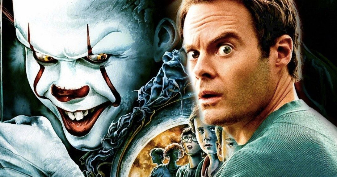Pennywise Torments Bill Hader In New It 2 Set Photos