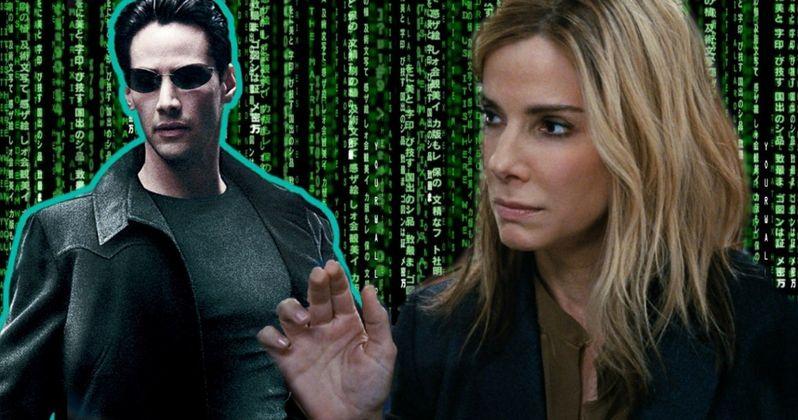 The Matrix Almost Had Sandra Bullock as Female Neo
