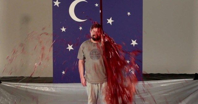 Watch MovieWeb's Brian Gallagher Get Bloody for Carrie