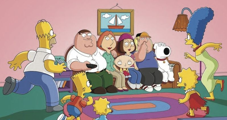 Family Guy Meets The Simpsons in 7 Fox Comic-Con Posters