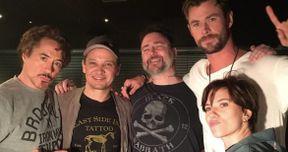 Original Avengers Cast Got Matching Tattoos to Celebrate Infinity War