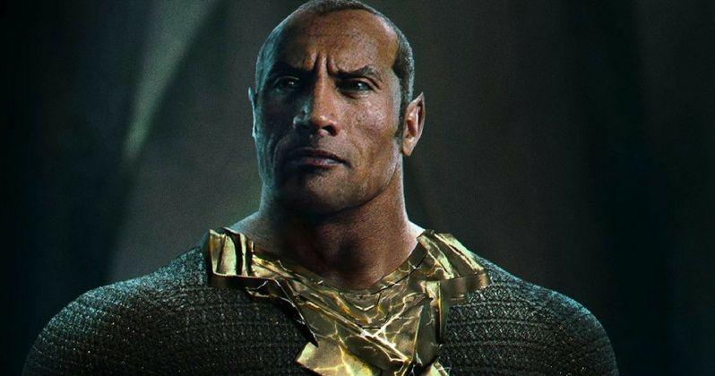The Rock's Black Adam Won't Show Up in Shazam?