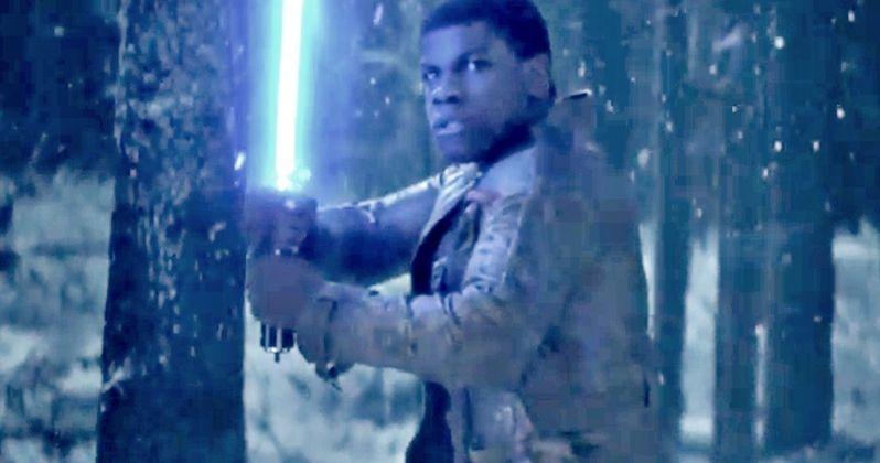 Star Wars: The Force Awakens Teaser Has Kylo Ren, Finn & Lightsabers