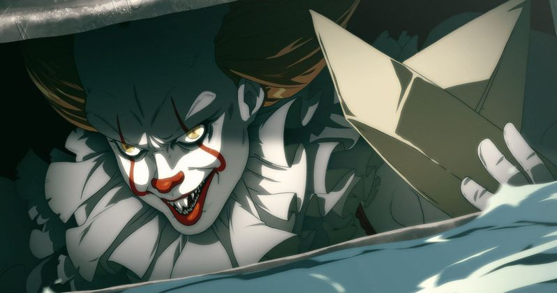 Pennywise Goes Anime and IT Is Perfect