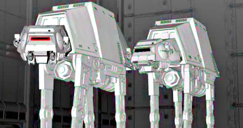 AT-AT Walkers Come to Life in New Star Wars Land Video