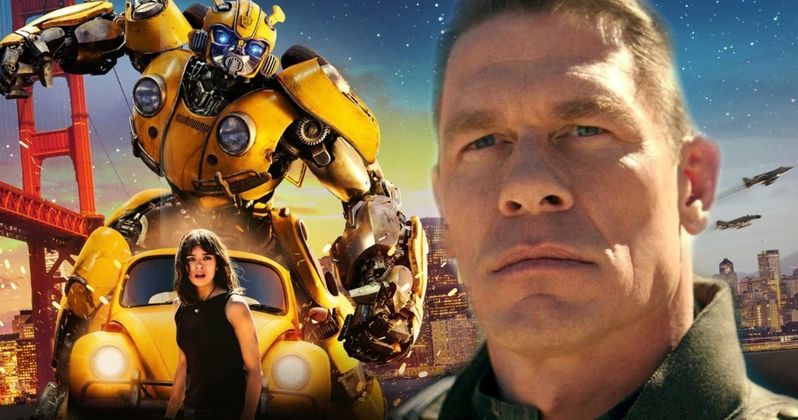 John Cena Introduces Original Bumblebee Opening in Exclusive Digital Clip