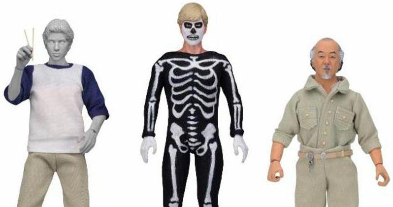 Own Halloween Skeleton Cobra Kai Johnny with NECA's Karate Kid Action Figures