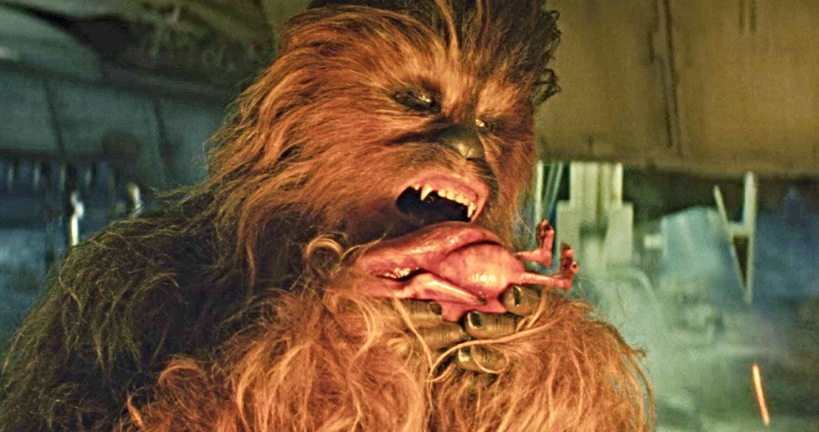 Does Chewbacca Really Eat People, or Just Porgs?