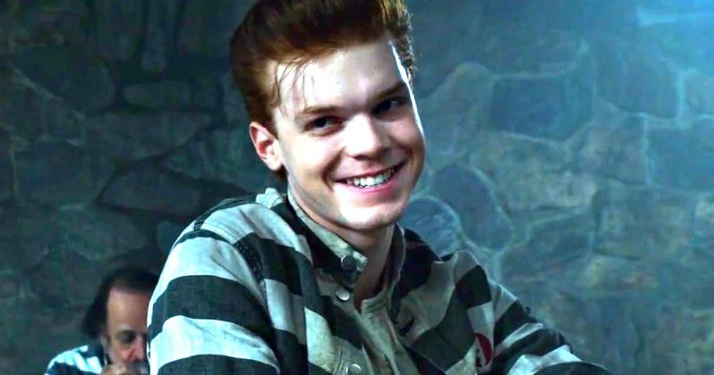 Gotham Season 2 Clip Visits the Joker Inside Arkham Asylum