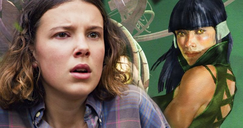 Millie Bobby Brown Insists She's Not in Marvel's The Eternals