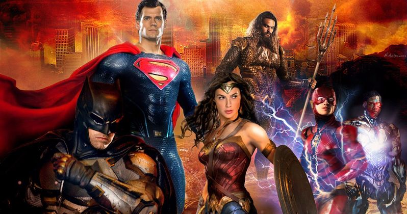 Mythical Justice League Snyder Cut Unites DC Fans for Suicide Prevention