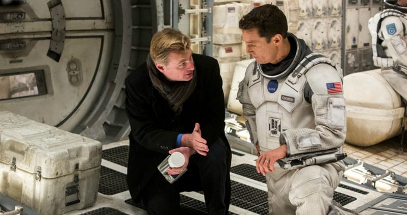 Interstellar Photos Go On Set with Director Christopher Nolan