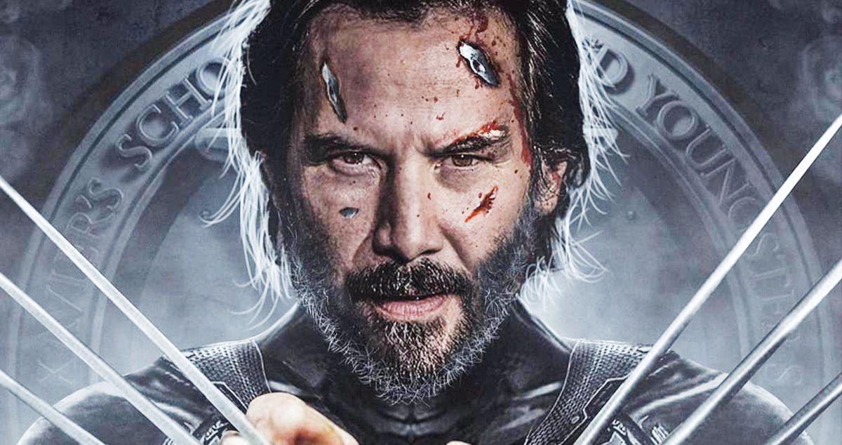 Keanu Reeves Is Old Man Logan in New Wolverine Fan Art