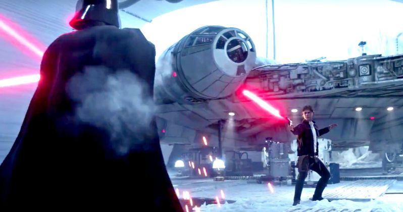 Star Wars Battlefront Trailer Shows Han Solo Fighting Darth Vader