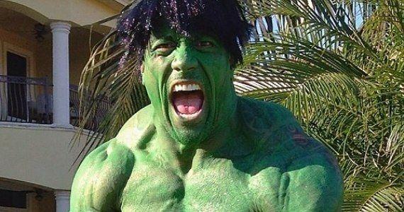 Stan Lee Trolls The Rock Over His Old Hulk Halloween Costume