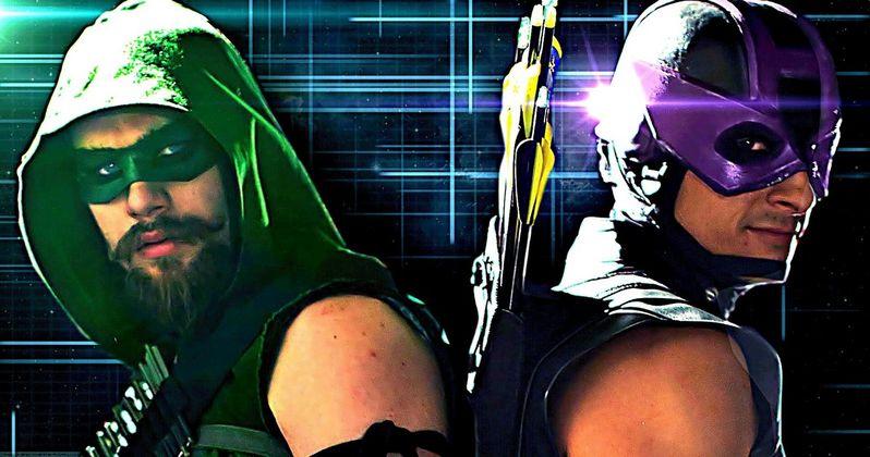 Nerd Alert: Arrow Vs Hawkeye, Minions Traffic Jam & More