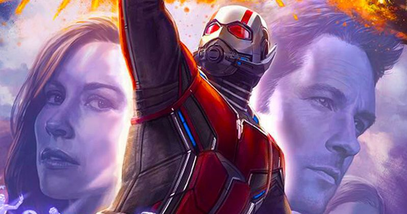 Ant-Man and the Wasp Reunite in Latest Photos from Marvel Set