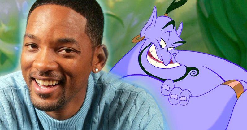 Disney's Aladdin Remake Wants Will Smith as the Genie