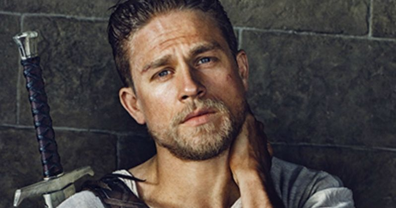 First Look at Charlie Hunnam as King Arthur