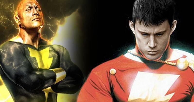 Shazam & Black Adam Movies Still Happening, Will Help Shape DCEU