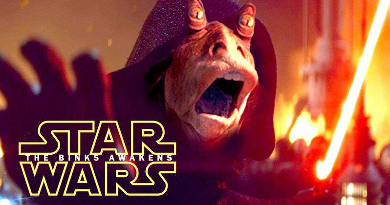 Jar Jar Binks Invades Final Star Wars: The Force Awakens Trailer