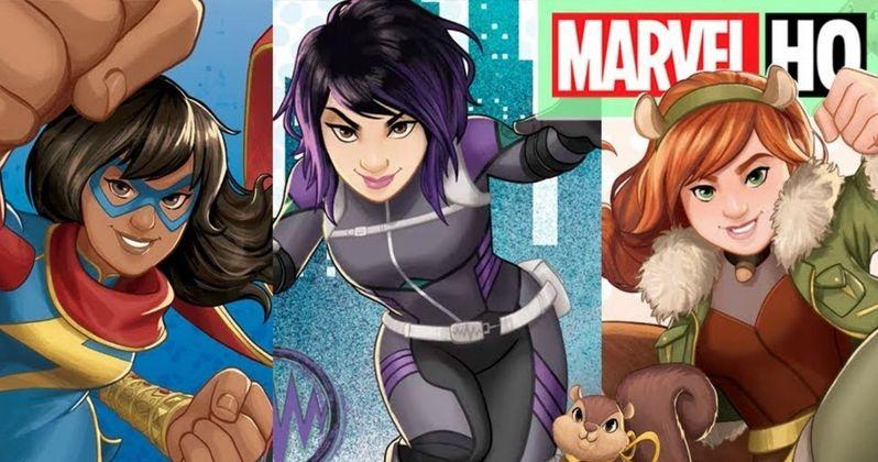 Marvel Rising Trailer Announces Secret Warriors Animated Movie