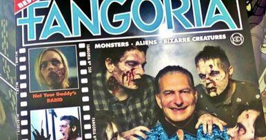 Joe Bob Briggs Takes Over the Cover of Fangoria Issue 2
