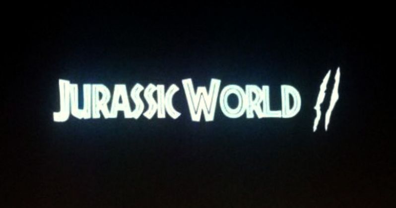 Jurassic World 2 Logo Unveiled, First Footage Coming Soon