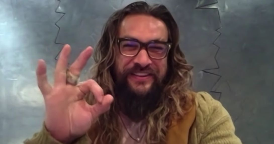 Aquaman and the Lost Kingdom Filming has left Jason Momoa Battered & Bruised