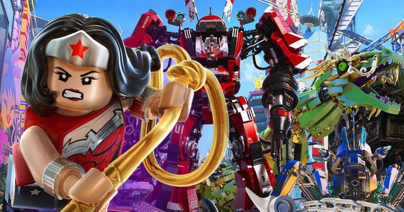 Wonder Woman Cameo Revealed in Lego Ninjago Movie Sneak Peek