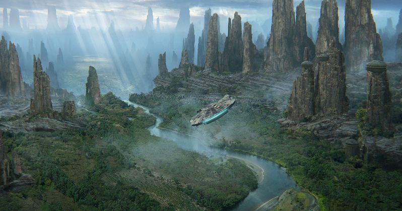Disney Reveals Black Spire Outpost for Star Wars: Galaxy's Edge