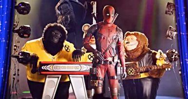 Deadpool 2 Super Duper Cut Trailer Parties with Rock-afire Explosion
