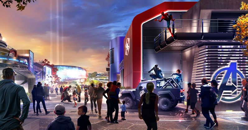 Marvel Land Is Officially Coming to Disney's California Adventure