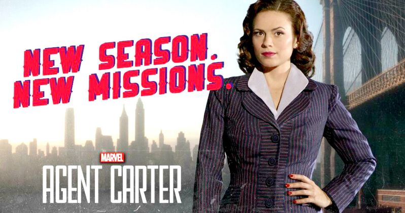 Agent Carter Season 2 Poster Sends Peggy Back to Work!