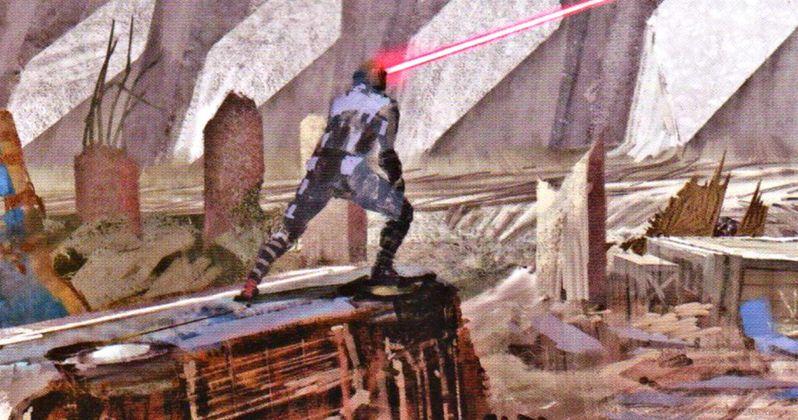 X-Men: Apocalypse Art Shows Cyclops & Jean Grey in Battle