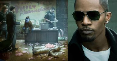 Jamie Foxx Gets R-Rated with Muppets in The Happytime Murders