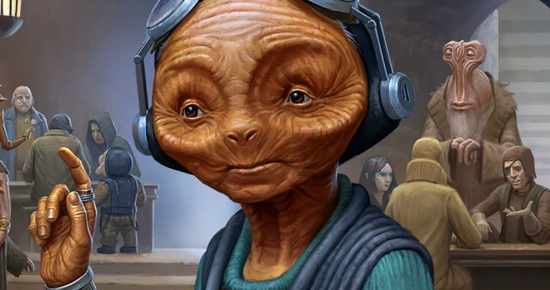 What Maz Kanata Is Really Doing in Star Wars 8