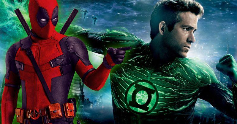 Ryan Reynolds Wrote Deadpool While Shooting Green Lantern