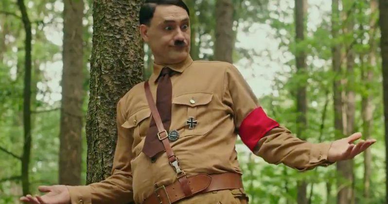 movie news Is Taika Waititi's Nazi Satire Jojo Rabbit Too Edgy for Disney Fans?