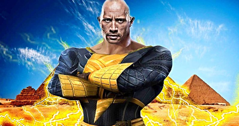 What's Happening with The Rock's Black Adam Movie?