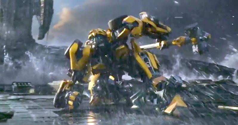 Transformers: The Last Knight TV Trailer Shows Off Its Epicness