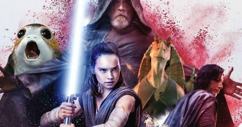 Is Jar Jar Binks Hiding in the Star Wars 8 Poster?