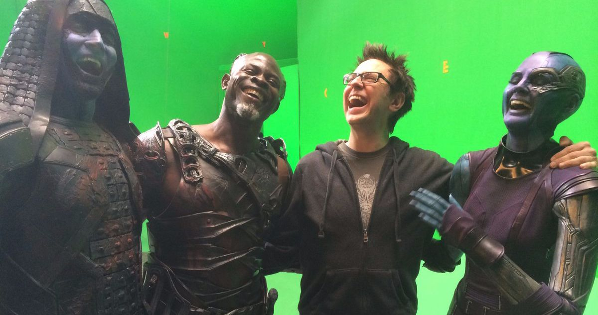 James Gunn Celebrates 'Guardians of the Galaxy' 6th Anniversary with Throwback Set Photos