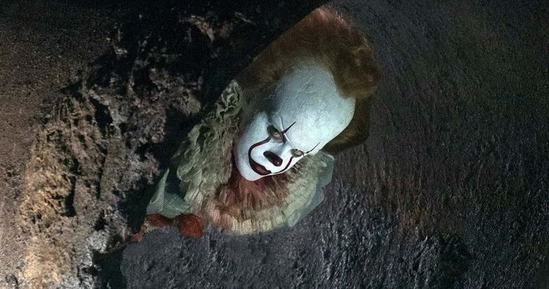 Pennywise Comes Out of Hiding in Latest IT Photo